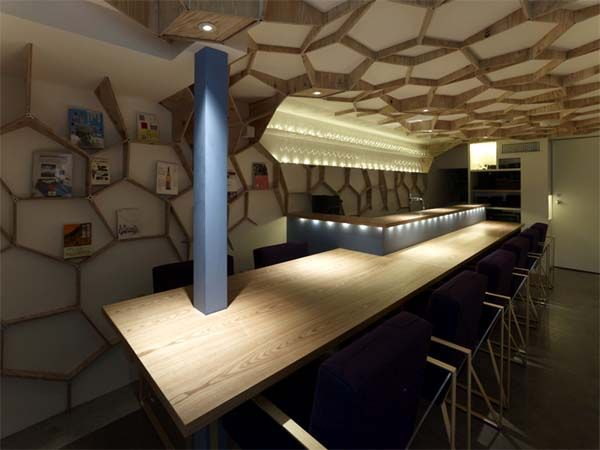 Lucien Pellat Finet Shop and Cafe by Kengo Kuma