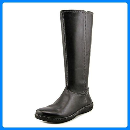 Nine West Leowm Damen US 5 Braun Mode Knie hoch Stiefel