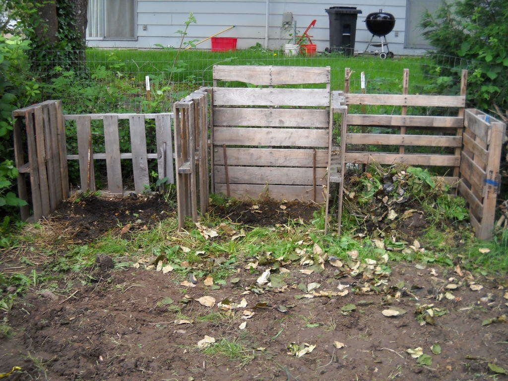 How to Build Cheap Compost Bins (With images) | Cheap ...