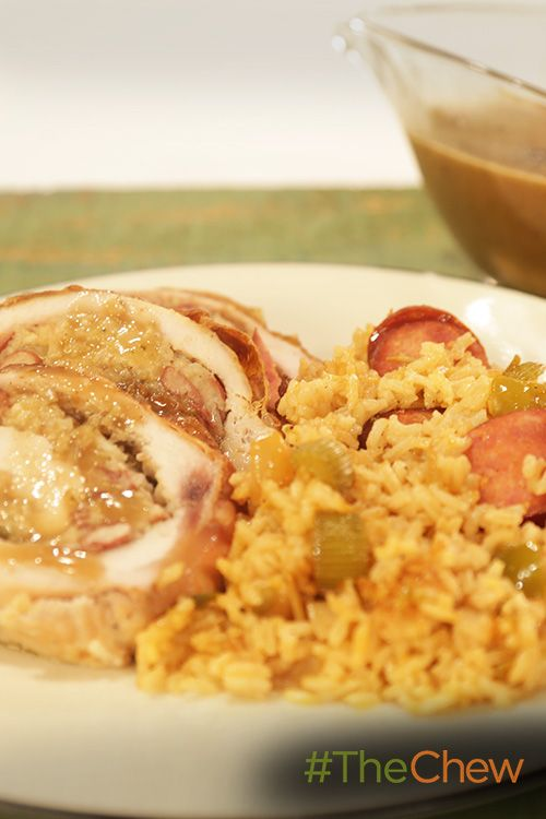Bring the flavors of New Orleans to your Thanksgiving with this Stuffed Turkey with Sazerac Gravy recipe!
