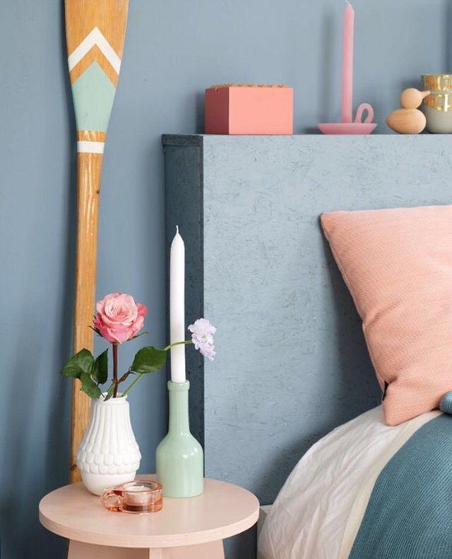Denim drift via instagram prchtg muren pinterest for Denim bedroom ideas