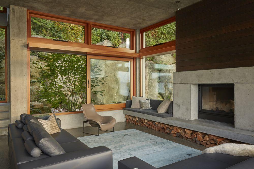 Bayhouse48jpg McClellan Architects Pinterest Architects Amazing Bay Window Exterior Pictures Minimalist Interior