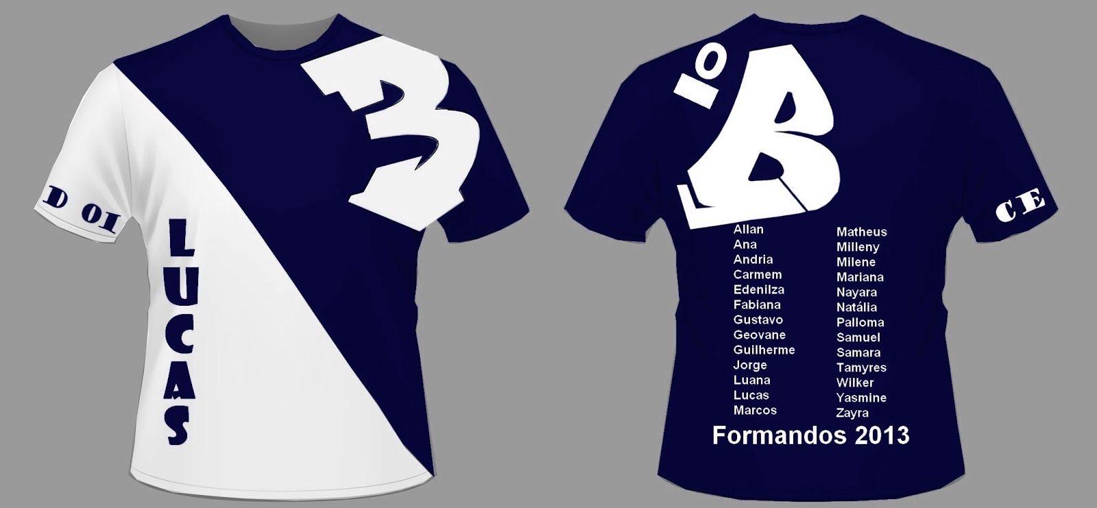 Camisetas Para Formandos 3 Ano Modelos Camisa Formandos
