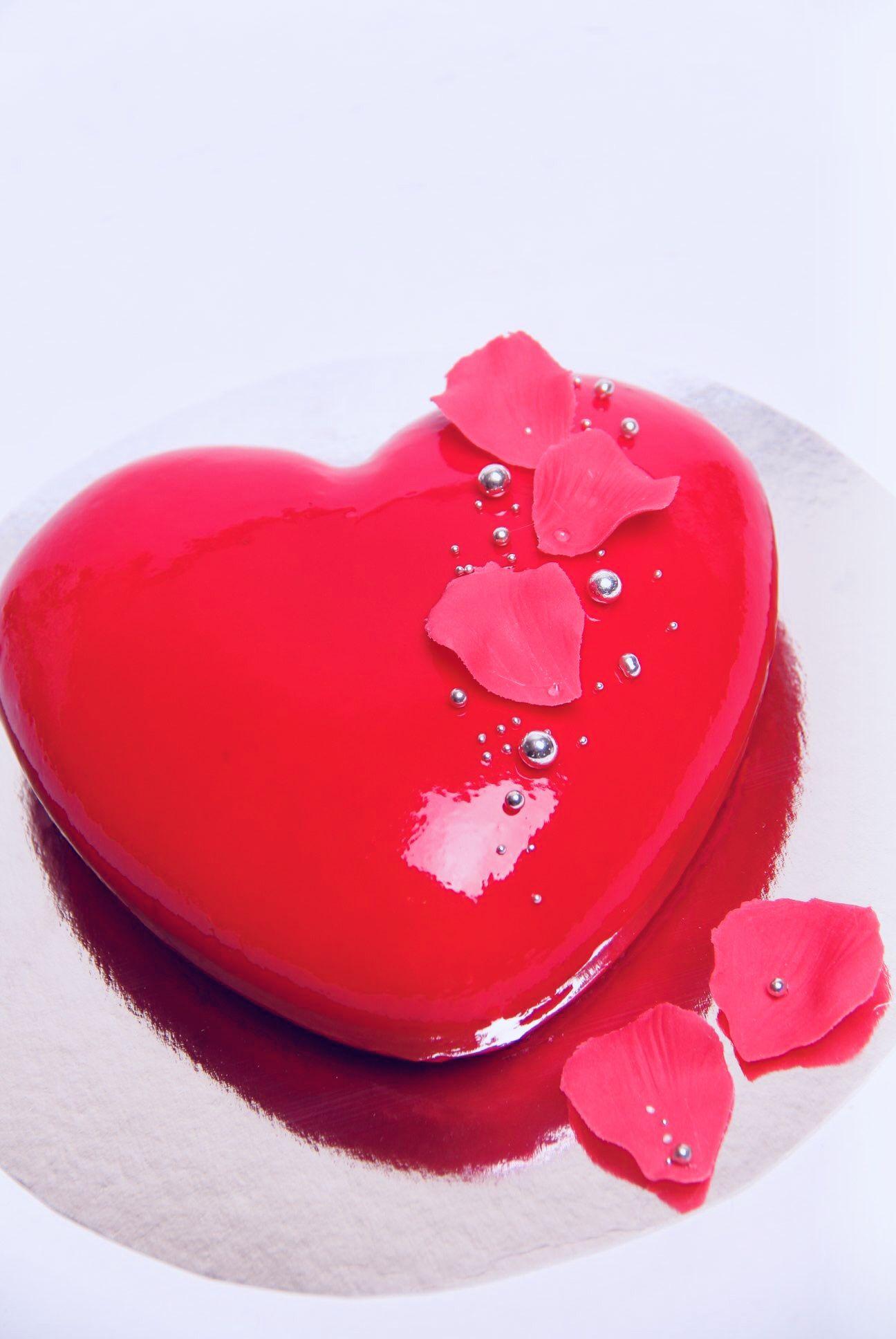 Картинки сердечки и торта