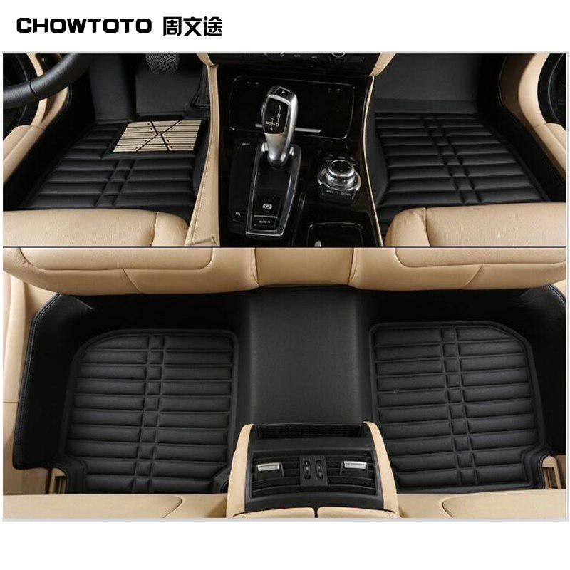 Chowtoto Special Car Floor Mats For Ford Fiesta Non Slip Wateproof Leather Carpets Us 235 00 Car Floor Mats Interior Accessories Durable Carpet