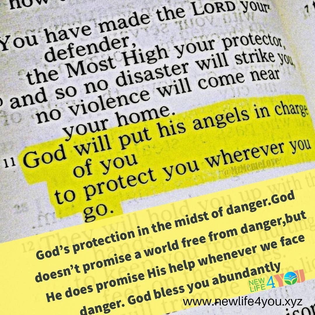 For He Will Command His Angels In Regard To You To Protect And Defend And Guard You In All Your Ways Of Obed Prayer Scriptures Prayer Quotes Scripture Quotes