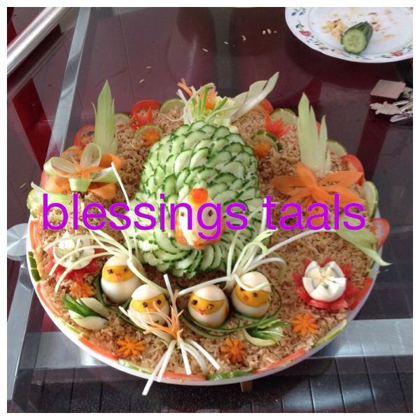 Bangladeshi Wedding Food Decoration