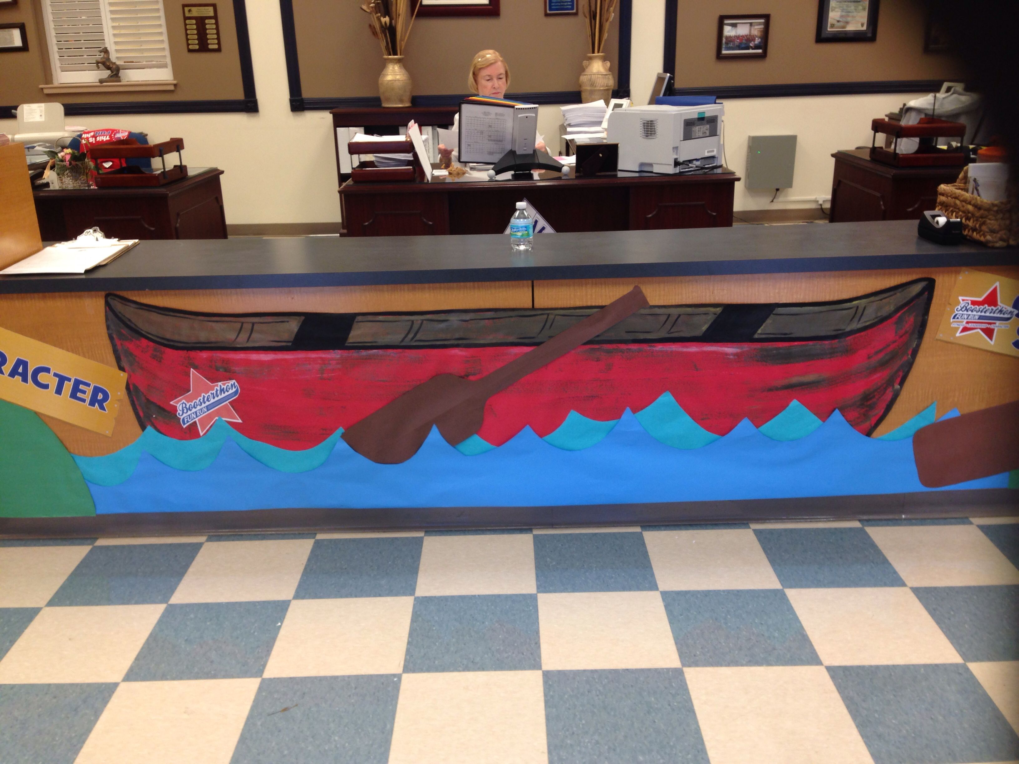 Boosterthon Camp High Five Bryant Elementary Tampa Fl 10 2017 Front Office Decor Canoe
