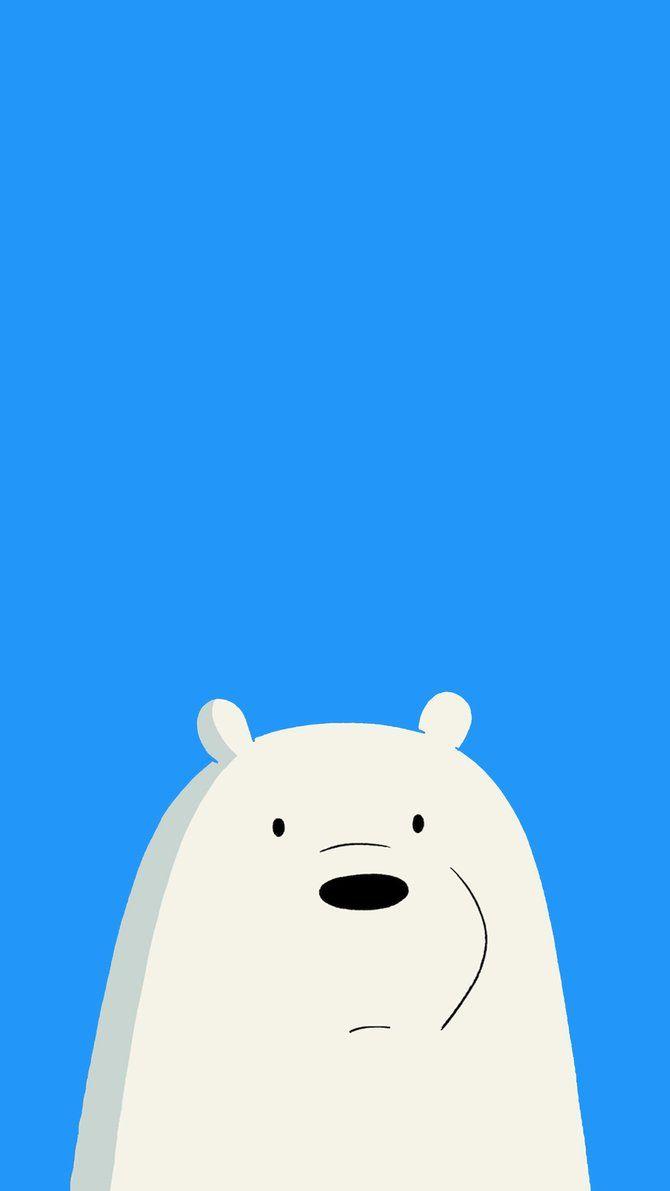 We Bare Bears Icebear Mobile Wallpaper 1080x1920 By Ayilar Hogwarts Ayi