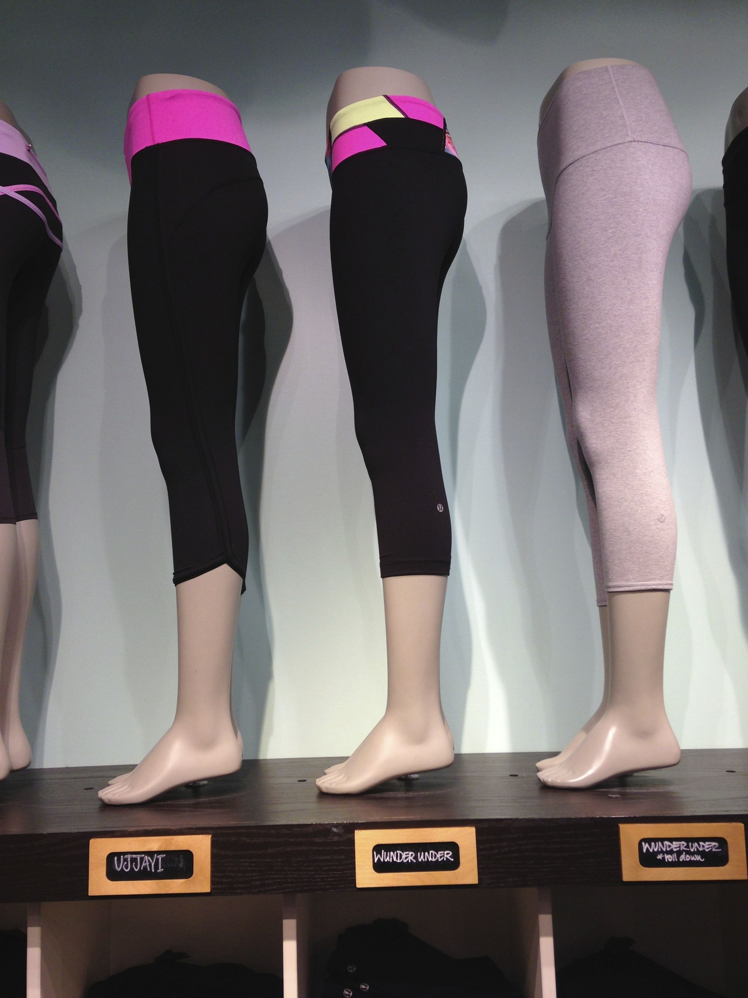 Are gap between girls legs with lululemons amusing opinion