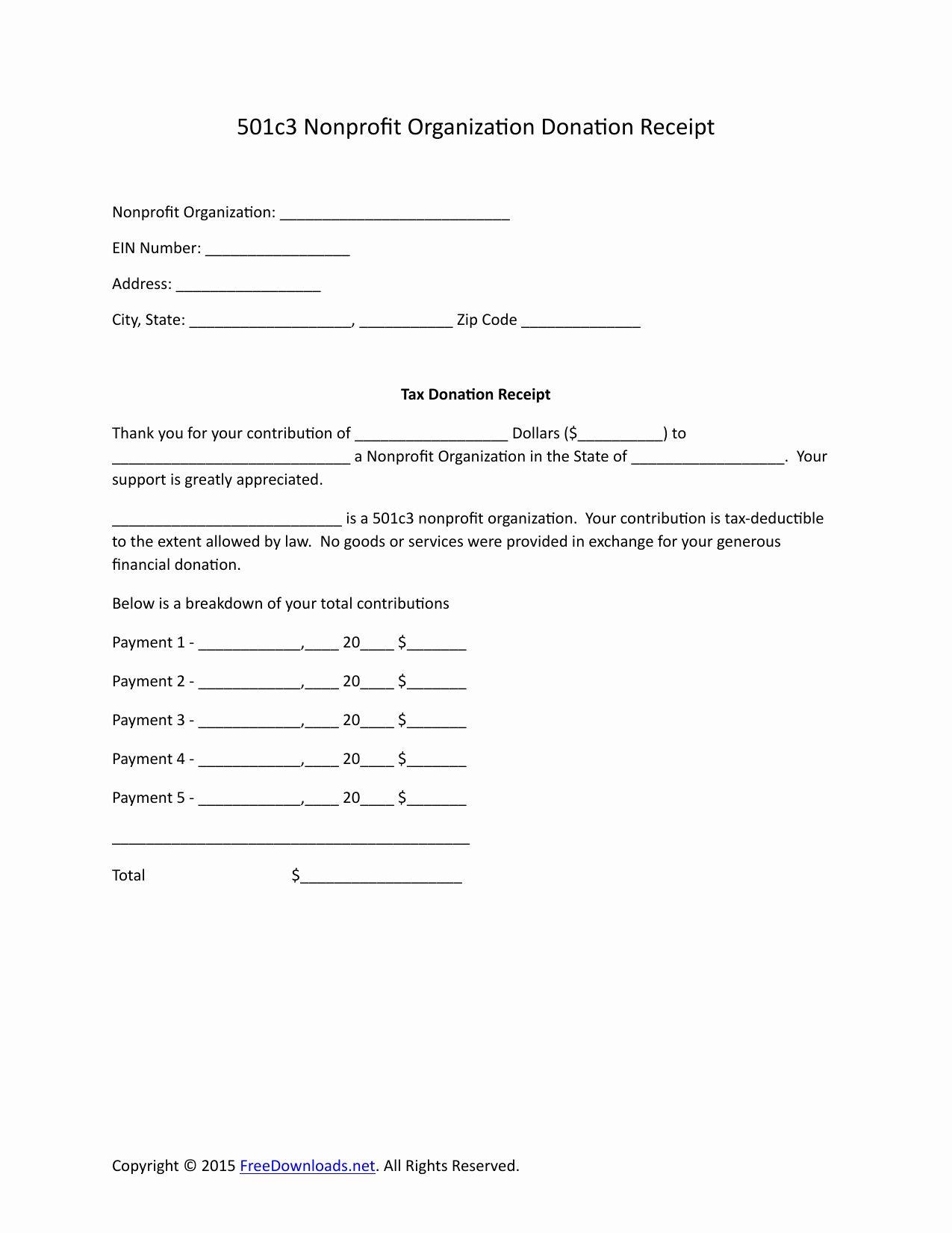 Donation Receipt Letter Template Beautiful Download 501c3 Donation Receipt Letter For Tax Purposes Donation Letter Template Donation Letter Receipt Template