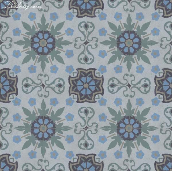 l'antiquario antique tiles | tiles p056 layout p058 gray 4 tiles p058 gray layout