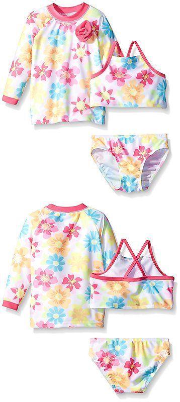 29d6c6d0cc Swimwear 147339: Sol Swim Baby Summer Sweety 3 Piece Rashguard Set, Multi,  6-9 Months -> BUY IT NOW ONLY: $50.15 on eBay!