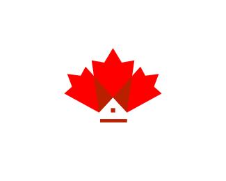 Canda Home Logo Design Leaf Home Price 99 00 Maple Leaf Logo Canada Logo Home Logo