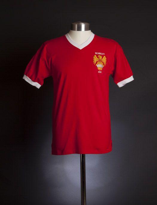 58a441da1ad Manchester United 1958 FA Cup Final shirt Retro Football Shirts, Fa Cup  Final, Man