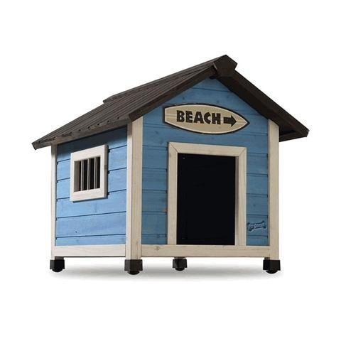 Beach Medium Dog House