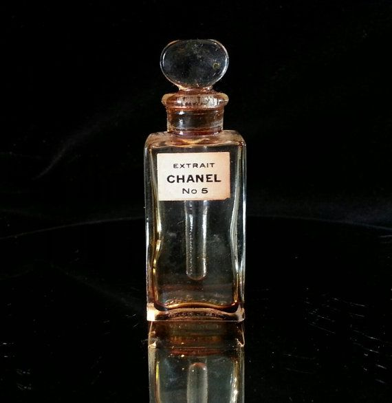 1469b105 Vintage 1940s 1950s Mini Chanel No 5 Crystal by OldGLoriEstateSale ...