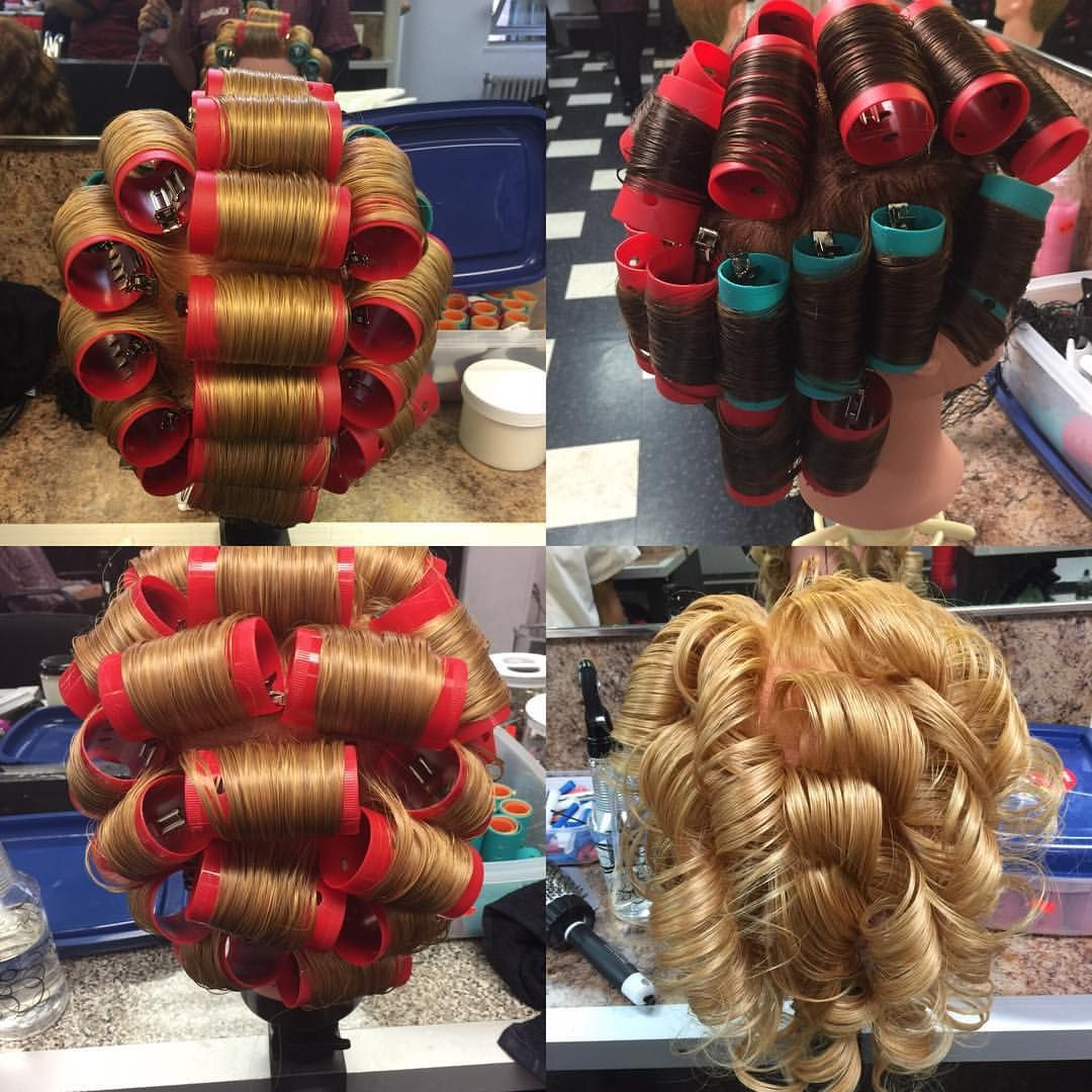 Did you know? There are 3 different roller set patterns