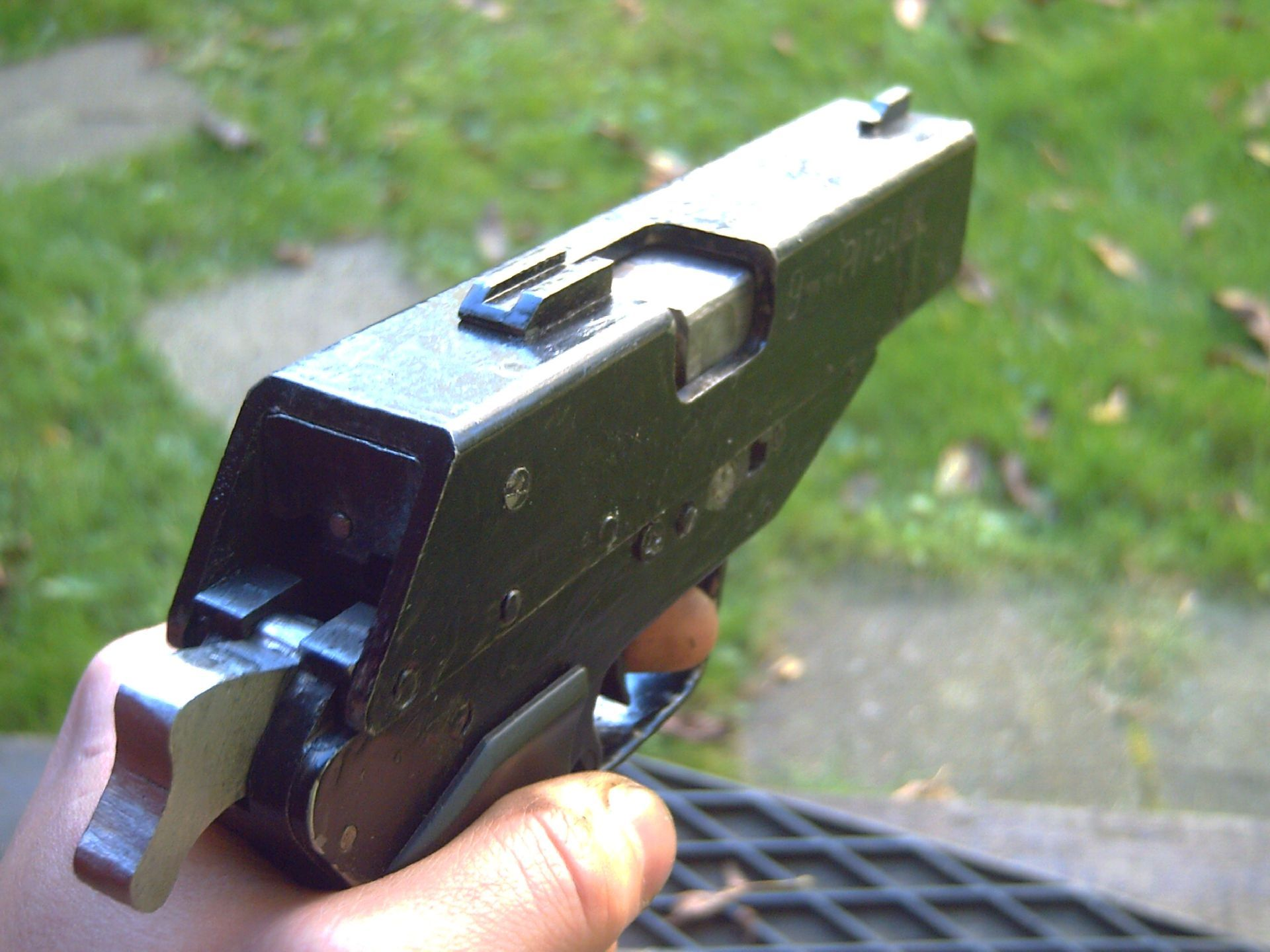 Spp 1 underwater pistol - Weaponeer Forums Pitbull A 9mm Luger Homemade Handgun