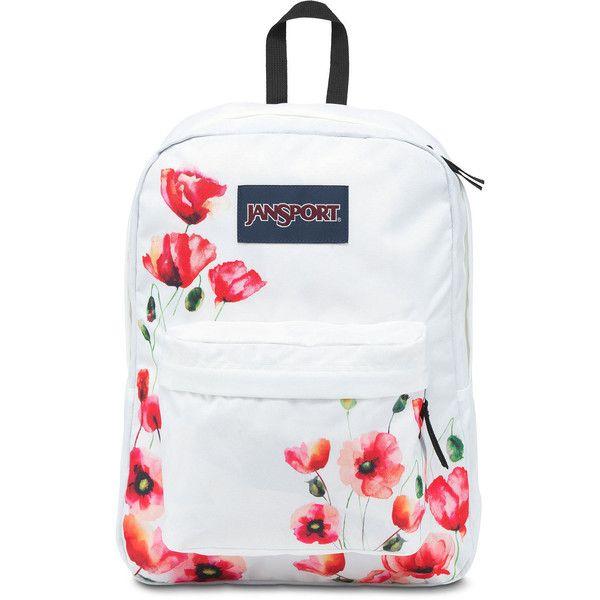 sold worldwide fair price enjoy big discount Jansport SuperBreak Backpack ($36) ❤ liked on Polyvore ...