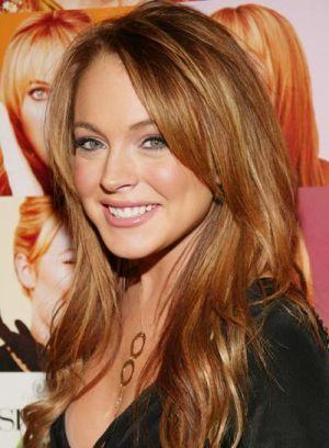 Celebrity Hair Color Addicts Lindsay Lohan Hair Auburn Hair