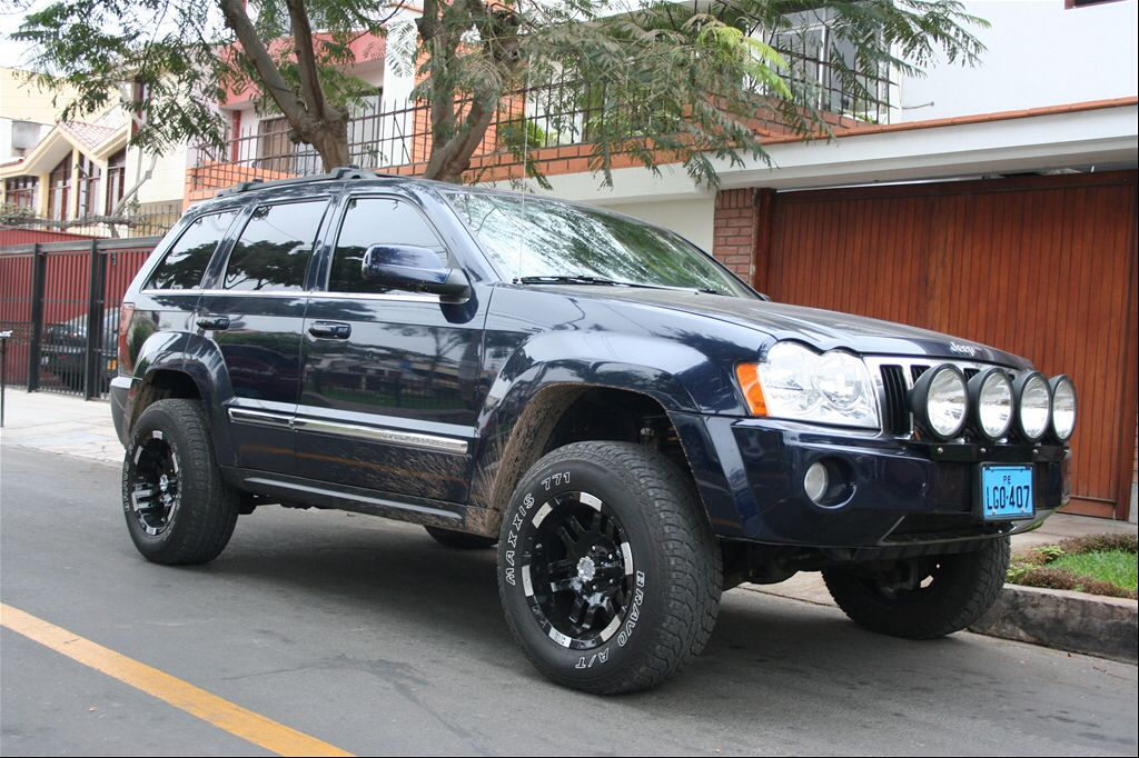 Modified Jeep Grand Cherokee Jeep Wk Jeep Grand Cherokee