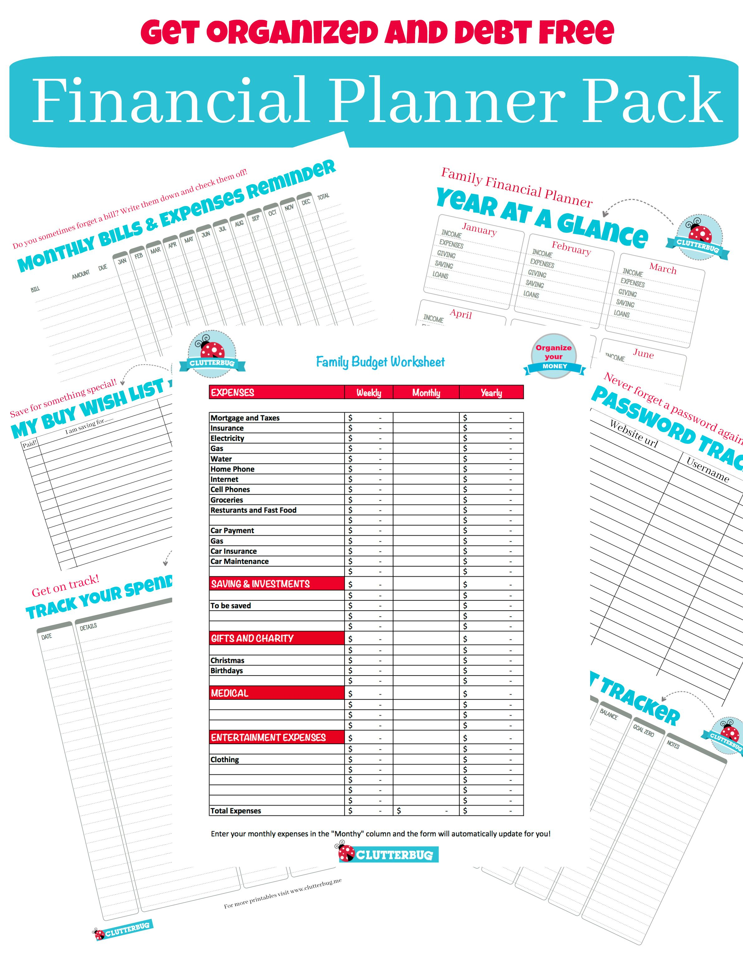 Free Printables From Clutterbug