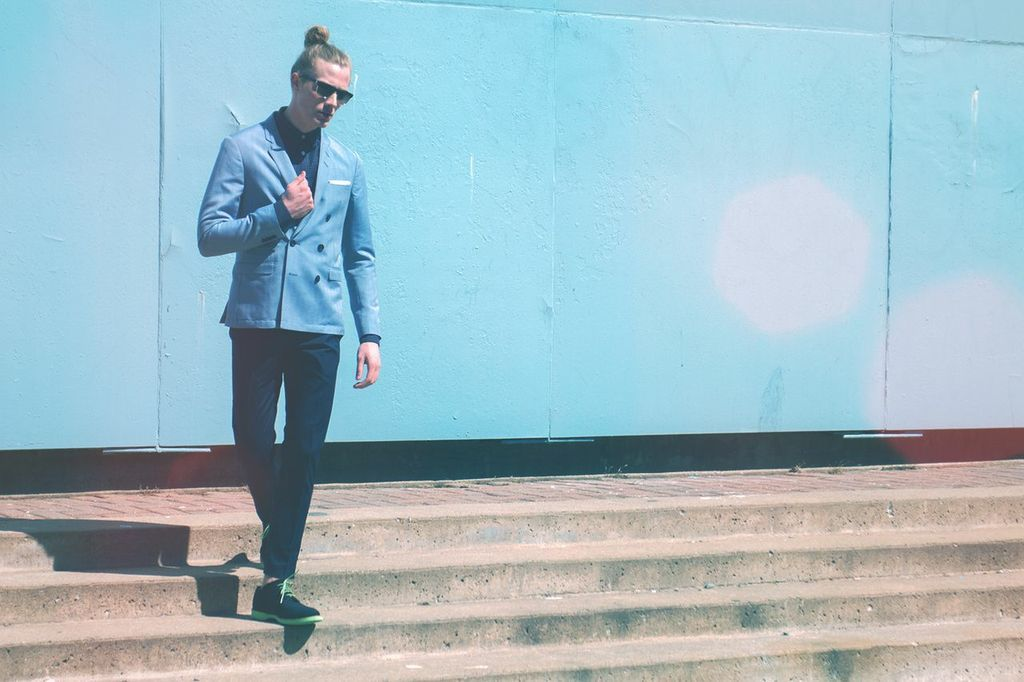 Put your double-breasted on #tigerofsweden #lookbook #montreal