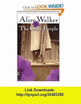 the color purple 9780156031820 alice walker isbn 10 0156031825 isbn - The Color Purple By Alice Walker Online Book