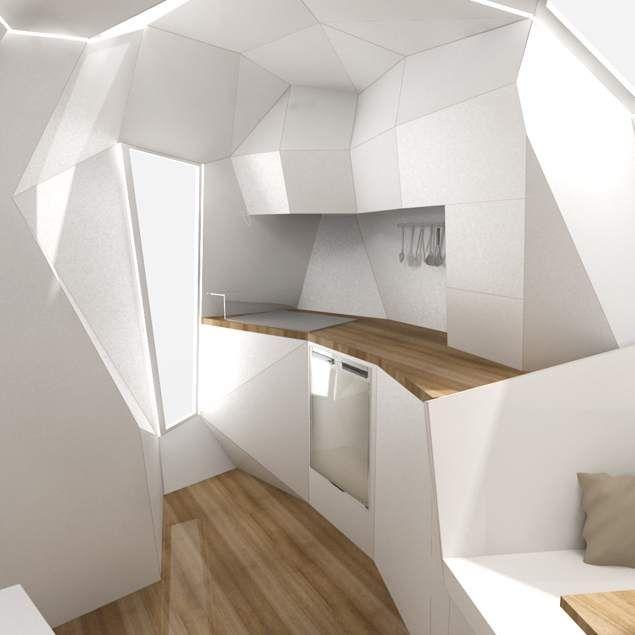 Une caravane sur mesure au design contemporain design contemporain caravan - Caravane d architecture ...