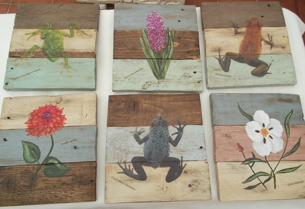 Cuadros de madera con diseños únicos para decorar un rincón de tu ...