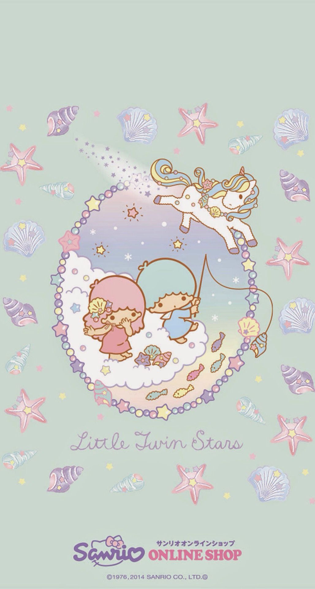 Little Twin Stars Pastels Wallpapers Colorkeyboard Go Keyboard