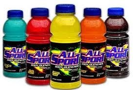 All Sport Sports Drink Like Gatorade Only Better Sports Drink Drinks Powerade Bottle