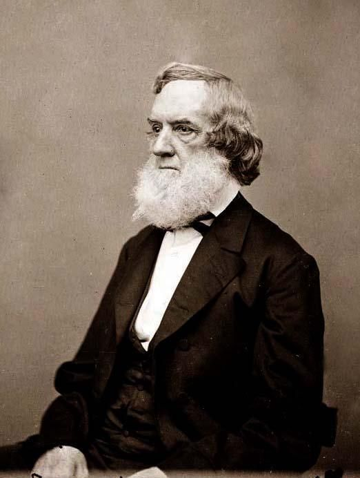 Gideon Welles was the Secretary of the Navy under President Abraham Lincoln. He was largely responsible for building an effective Iron-Clad Navy, and was successful in blockading Southern Ports. Secretary Welles was one of several people in attendance at President Lincoln's Deathbed on April 14, 1865.