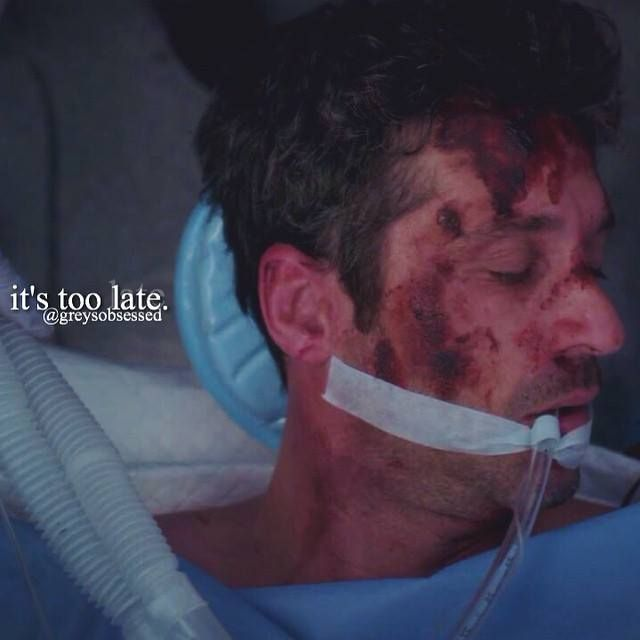 One of the saddest episode ever on Grey\'s Anatomy. Along with the ...