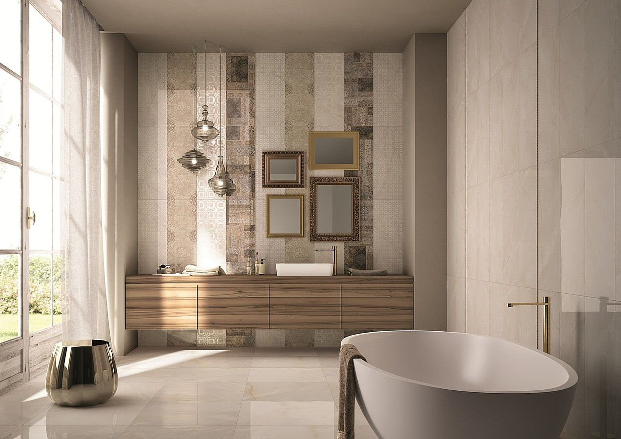 Tile Expert Grace Ceramic Tile And Mosaic By Abk Bagno Interno Design Per Bagno Moderno Decorare Il Bagno
