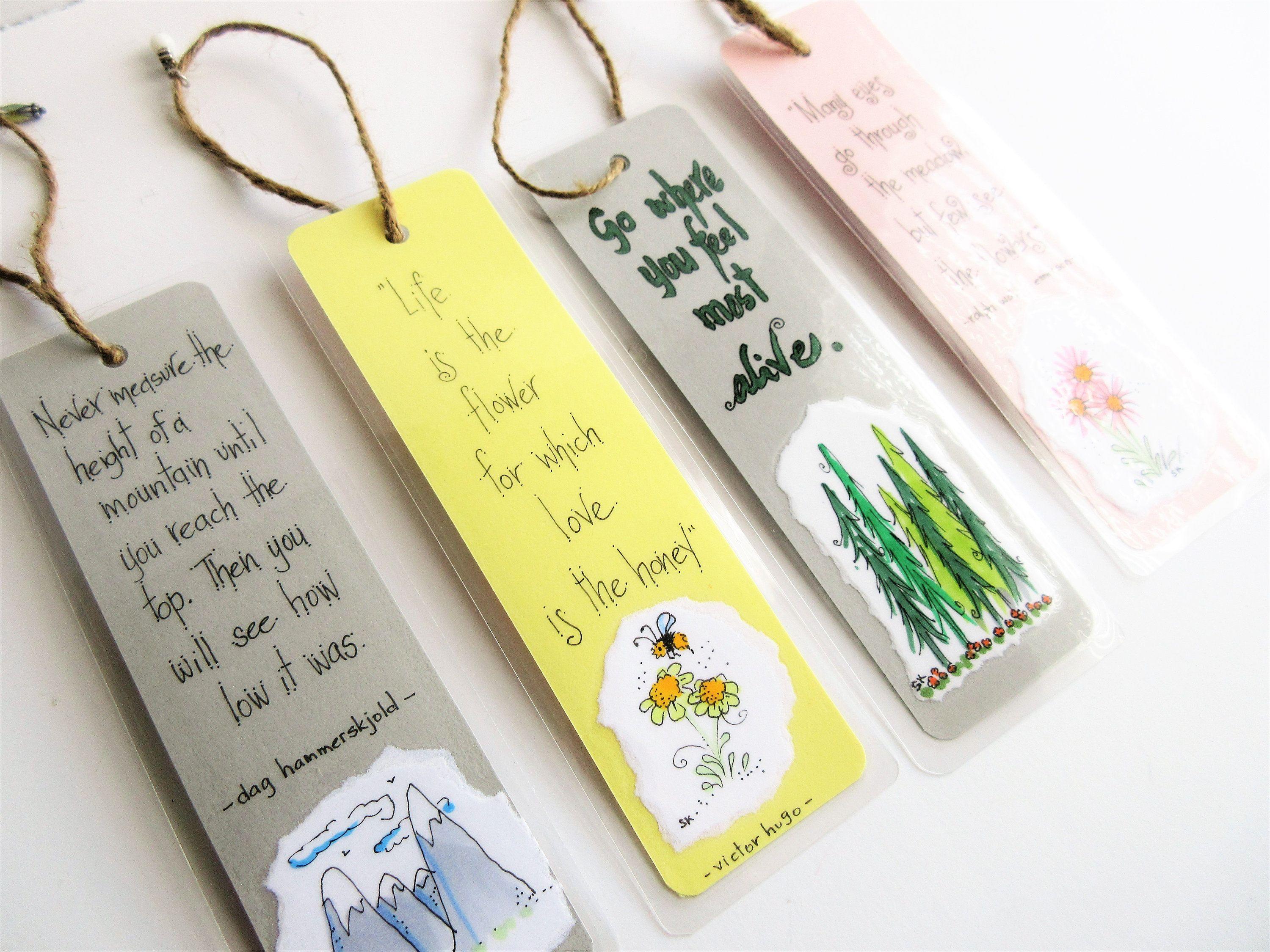 Handmade Bookmarks Book Lover Gifts Gifts For Friends Etsy Bookmarks Handmade Handmade Gifts For Friends Book Lovers Gifts