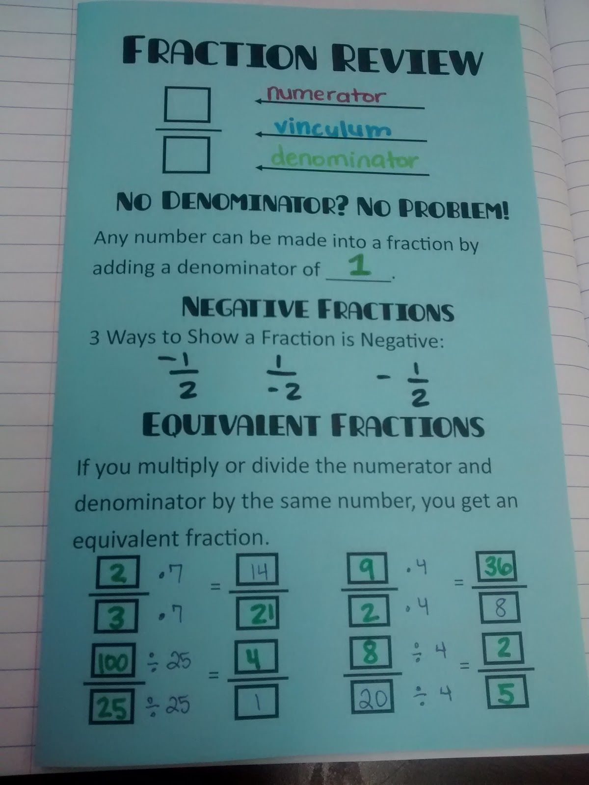 After my recent post on practicing fraction operations with a ...