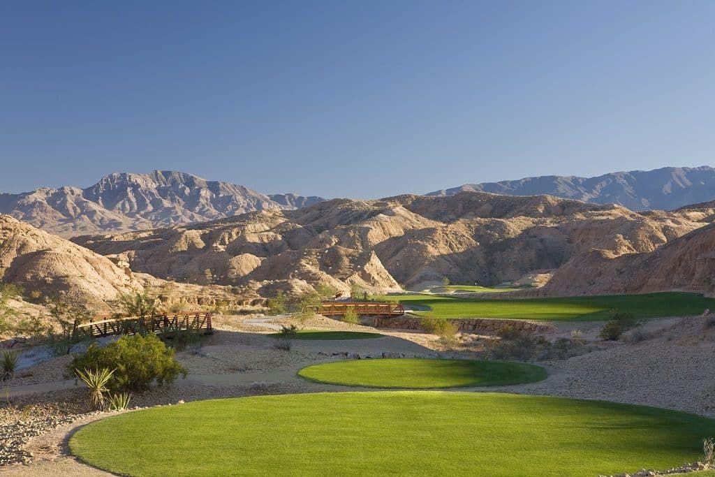 Las Vegas Nevada Surrounding Real Estate Areas Golf Courses