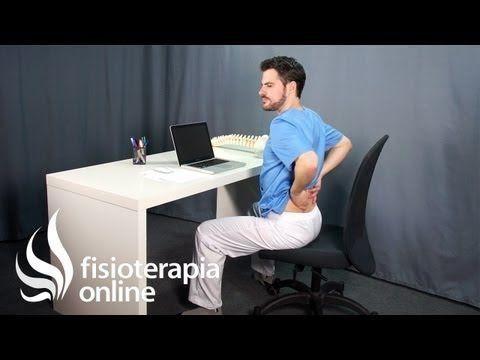 Cómo Sentarse En La Oficina Ejercicios Para La Espalda Oficinas Buena Postura