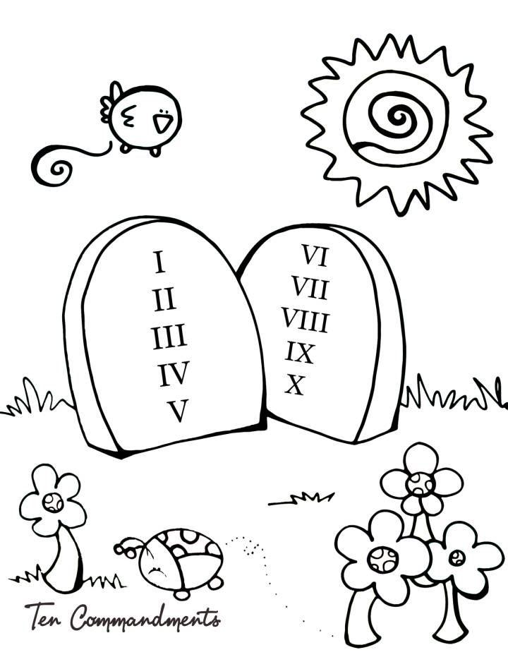 dibujo | Los diez mandamientos | Pinterest | Decoraciones de la ...
