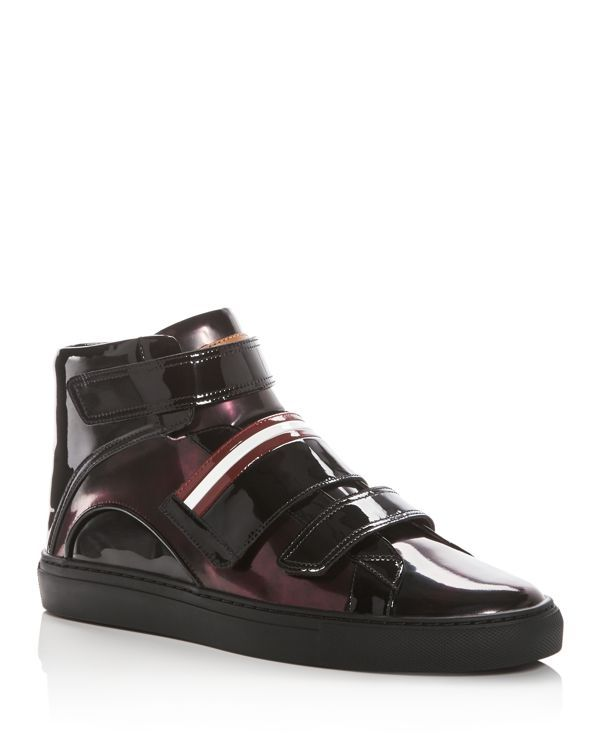 6802d7468 Bally Men's Herick Leather High Top Sneakers | Bally's | Leather ...