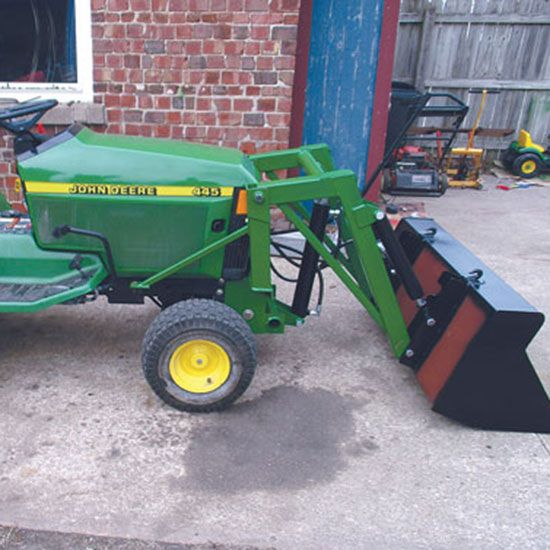 DIY Mini Front-End Loader for John Deere Garden Tractors