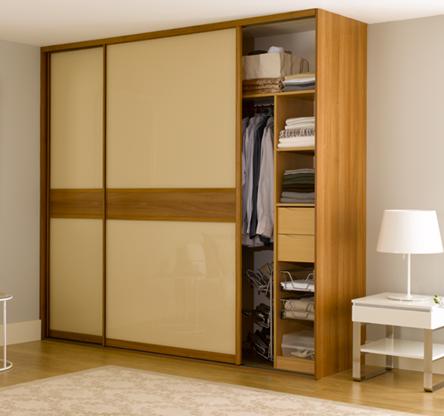 Fitted Wardrobe Sliding Doors Hpd435   Sliding Door Wardrobes   Al Habib Panel  Doors