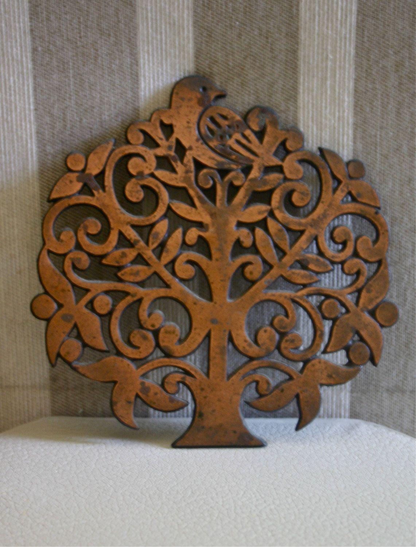 Tree trivet chantournage pinterest woodworking cnc and craft