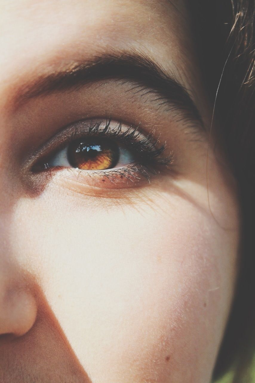 ☼ the megster ☼   b e a u t y   brown eyes aesthetic