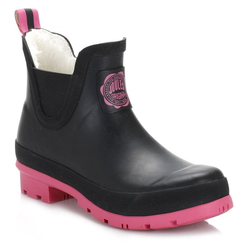 bc7ddbe9c60 Joules Womens Cerise Pink Wellibob Wellington Boots | Gumicsizma ...
