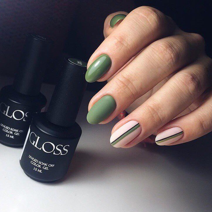 striped nail art | Olive These Nails | Pinterest | Manicure, Nails ...