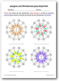 Resultado de imagen para hoja de trabajo de divisiones | Matemáticas ...