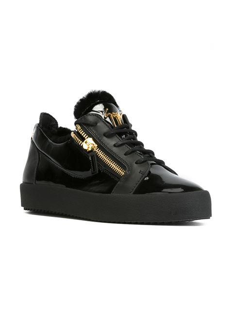 Giuseppe Zanotti Design zipped low-top sneakers